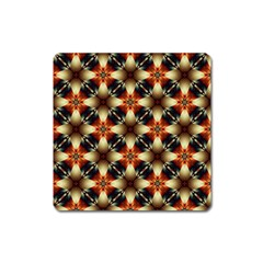 Kaleidoscope Image Background Square Magnet