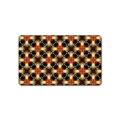 Kaleidoscope Image Background Magnet (Name Card)
