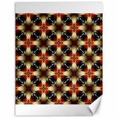 Kaleidoscope Image Background Canvas 12  x 16
