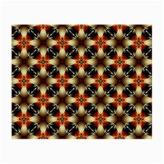 Kaleidoscope Image Background Small Glasses Cloth (2-Side)