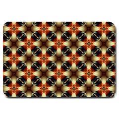 Kaleidoscope Image Background Large Doormat