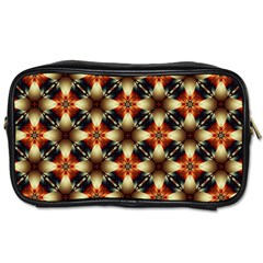 Kaleidoscope Image Background Toiletries Bags 2-Side