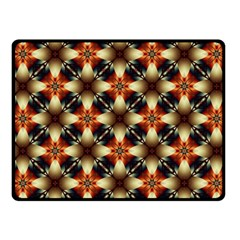 Kaleidoscope Image Background Fleece Blanket (Small)