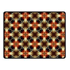 Kaleidoscope Image Background Fleece Blanket (Small)