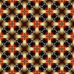 Kaleidoscope Image Background Magic Photo Cubes