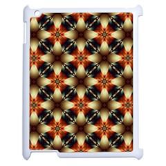 Kaleidoscope Image Background Apple iPad 2 Case (White)