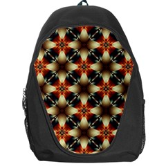 Kaleidoscope Image Background Backpack Bag