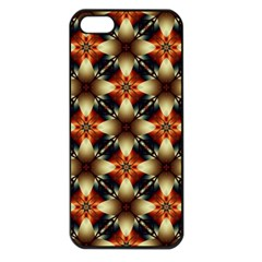 Kaleidoscope Image Background Apple iPhone 5 Seamless Case (Black)