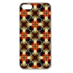 Kaleidoscope Image Background Apple Seamless iPhone 5 Case (Clear)