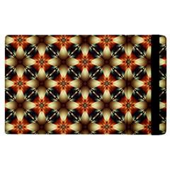 Kaleidoscope Image Background Apple iPad 2 Flip Case