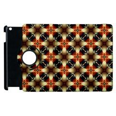 Kaleidoscope Image Background Apple iPad 2 Flip 360 Case