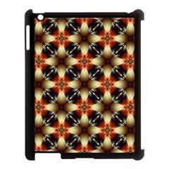 Kaleidoscope Image Background Apple iPad 3/4 Case (Black)