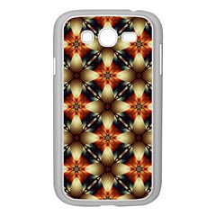 Kaleidoscope Image Background Samsung Galaxy Grand DUOS I9082 Case (White)