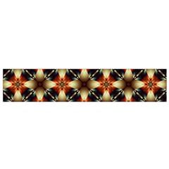 Kaleidoscope Image Background Flano Scarf (Small)