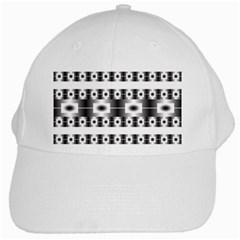 Pattern Background Texture Black White Cap