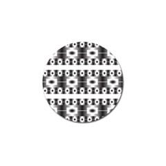 Pattern Background Texture Black Golf Ball Marker (10 pack)