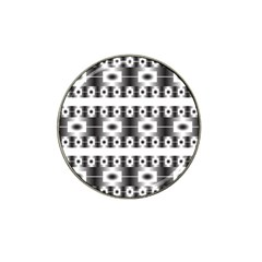 Pattern Background Texture Black Hat Clip Ball Marker (10 pack)