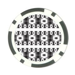 Pattern Background Texture Black Poker Chip Card Guards