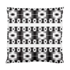 Pattern Background Texture Black Standard Cushion Case (One Side)