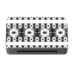Pattern Background Texture Black Memory Card Reader with CF