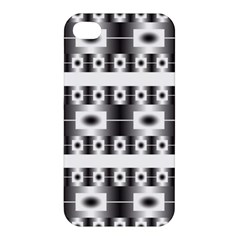 Pattern Background Texture Black Apple iPhone 4/4S Hardshell Case
