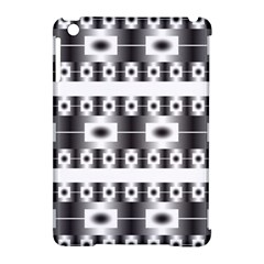 Pattern Background Texture Black Apple iPad Mini Hardshell Case (Compatible with Smart Cover)