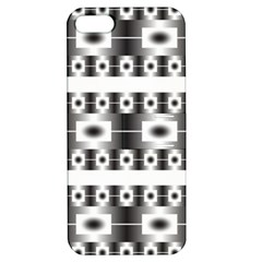 Pattern Background Texture Black Apple iPhone 5 Hardshell Case with Stand