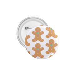 Pattern Christmas Biscuits Pastries 1.75  Buttons