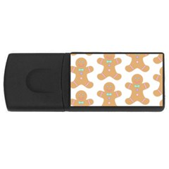 Pattern Christmas Biscuits Pastries USB Flash Drive Rectangular (2 GB)