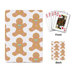Pattern Christmas Biscuits Pastries Playing Card