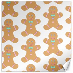Pattern Christmas Biscuits Pastries Canvas 20  x 20