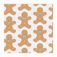 Pattern Christmas Biscuits Pastries Medium Glasses Cloth (2-Side)