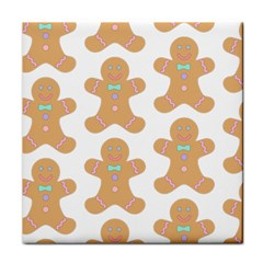 Pattern Christmas Biscuits Pastries Face Towel