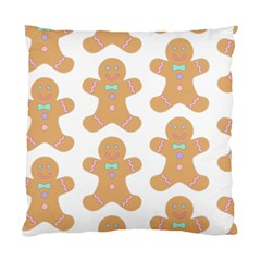 Pattern Christmas Biscuits Pastries Standard Cushion Case (Two Sides)