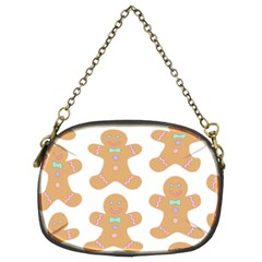 Pattern Christmas Biscuits Pastries Chain Purses (Two Sides)