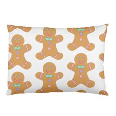 Pattern Christmas Biscuits Pastries Pillow Case