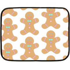 Pattern Christmas Biscuits Pastries Fleece Blanket (Mini)