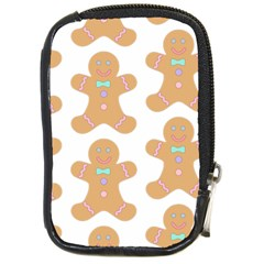 Pattern Christmas Biscuits Pastries Compact Camera Cases