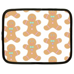 Pattern Christmas Biscuits Pastries Netbook Case (XXL)