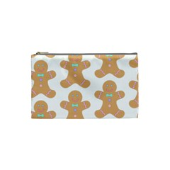 Pattern Christmas Biscuits Pastries Cosmetic Bag (Small)