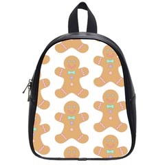 Pattern Christmas Biscuits Pastries School Bags (Small)