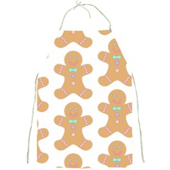 Pattern Christmas Biscuits Pastries Full Print Aprons