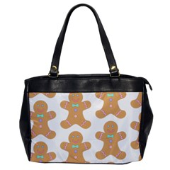 Pattern Christmas Biscuits Pastries Office Handbags