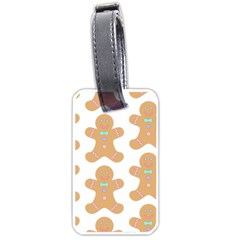 Pattern Christmas Biscuits Pastries Luggage Tags (Two Sides)