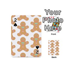 Pattern Christmas Biscuits Pastries Playing Cards 54 (Mini)