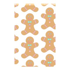 Pattern Christmas Biscuits Pastries Shower Curtain 48  x 72  (Small)