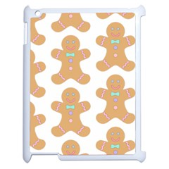 Pattern Christmas Biscuits Pastries Apple iPad 2 Case (White)