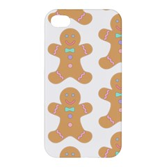 Pattern Christmas Biscuits Pastries Apple iPhone 4/4S Premium Hardshell Case