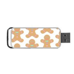 Pattern Christmas Biscuits Pastries Portable USB Flash (Two Sides)