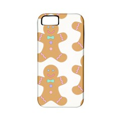 Pattern Christmas Biscuits Pastries Apple iPhone 5 Classic Hardshell Case (PC+Silicone)